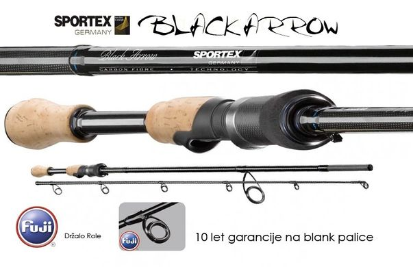 Спиннинг Sportex Black Arrow BA 1800