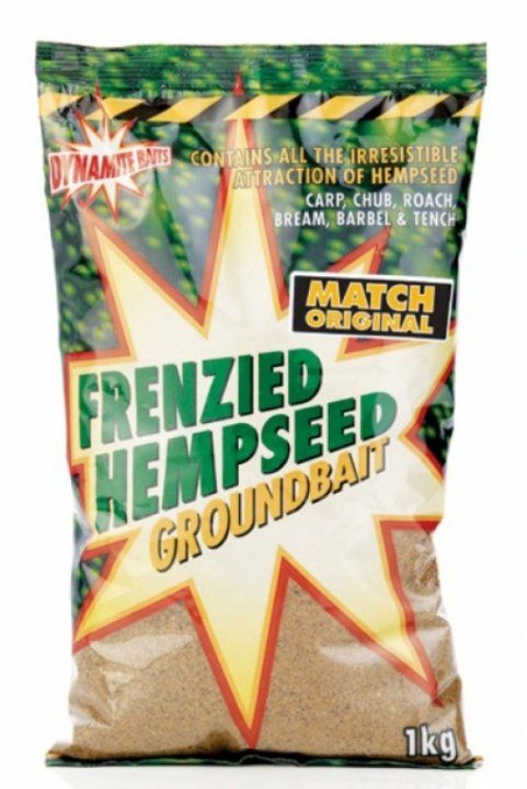 Прикормка Dynamite Baits Frenzied Hemp Match Original 1kg